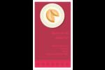 Nouvel An chinois avec biscuit Carte d'affaire - gabarit prédéfini. <br/>Utilisez notre logiciel Avery Design & Print Online pour personnaliser facilement la conception.