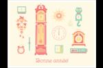 Horloges Cartes Et Articles D'Artisanat Imprimables - gabarit prédéfini. <br/>Utilisez notre logiciel Avery Design & Print Online pour personnaliser facilement la conception.