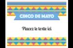 Serape de Cinco de Mayo Cartes Et Articles D'Artisanat Imprimables - gabarit prédéfini. <br/>Utilisez notre logiciel Avery Design & Print Online pour personnaliser facilement la conception.