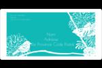 Signes du printemps Étiquettes de classement écologiques - gabarit prédéfini. <br/>Utilisez notre logiciel Avery Design & Print Online pour personnaliser facilement la conception.