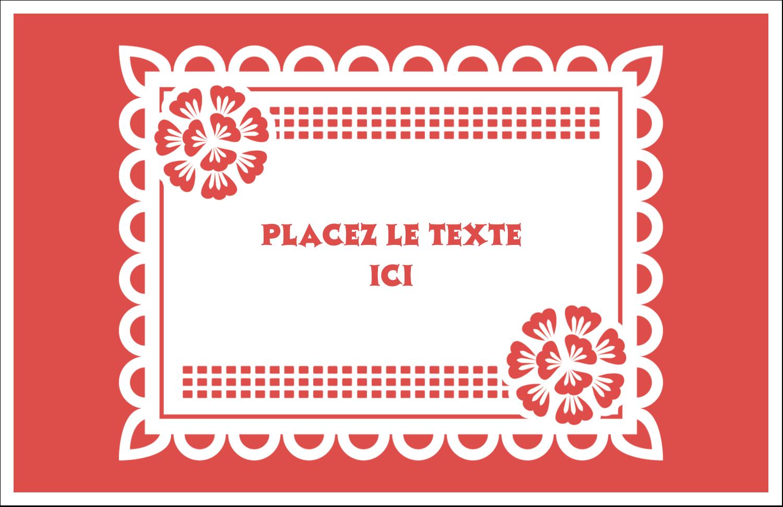 """8½"""" x 11"""" Cartes Et Articles D'Artisanat Imprimables - Confettis de Cinco de Mayo"""