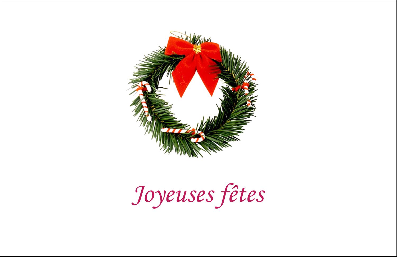 """8½"""" x 11"""" Cartes Et Articles D'Artisanat Imprimables - Couronne de Noël"""