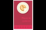 Nouvel An chinois avec biscuit Reliures - gabarit prédéfini. <br/>Utilisez notre logiciel Avery Design & Print Online pour personnaliser facilement la conception.