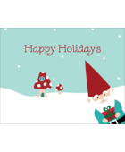 Add whimsical fun to custom projects with pre-designed Christmas Gnome templates.