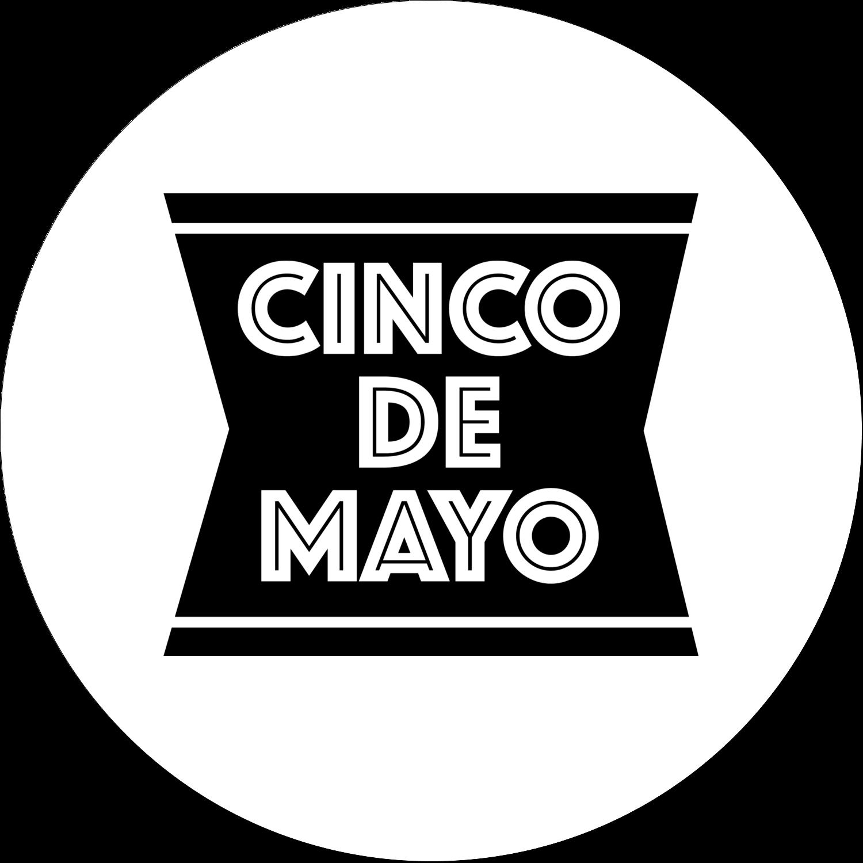 "2"" Embossed Round Label - Cinco de Mayo Serape"