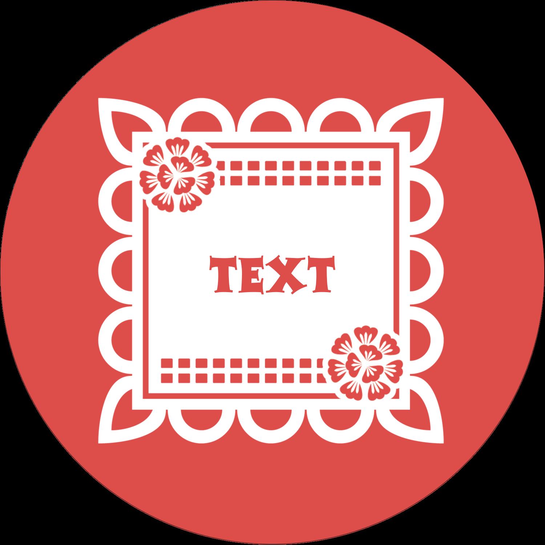 graphic relating to Papel Picado Printable identify Cinco de Mayo Papel Picado predesigned template for your