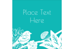 Remind mom of the pleasant days ahead with a bright bluebird and a personalized message.