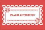 Confettis de Cinco de Mayo Étiquettes rectangulaires - gabarit prédéfini. <br/>Utilisez notre logiciel Avery Design & Print Online pour personnaliser facilement la conception.