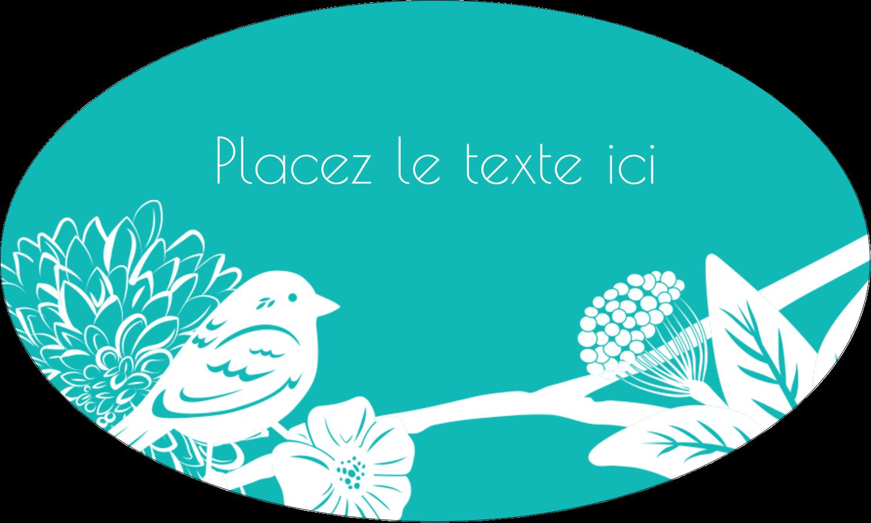 """1½"""" x 1½"""" Étiquettes carrées - Signes du printemps"""