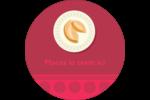 Nouvel An chinois avec biscuit Étiquettes Voyantes - gabarit prédéfini. <br/>Utilisez notre logiciel Avery Design & Print Online pour personnaliser facilement la conception.