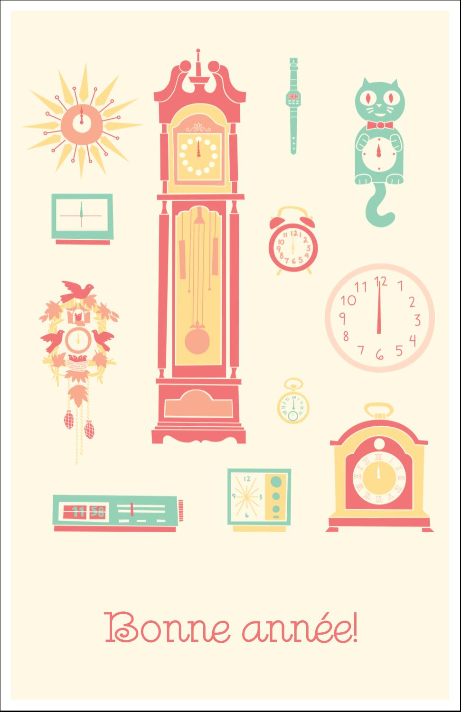 """8½"""" x 11"""" Binder Insert Reliures - Horloges"""