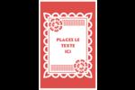 Confettis de Cinco de Mayo Reliures - gabarit prédéfini. <br/>Utilisez notre logiciel Avery Design & Print Online pour personnaliser facilement la conception.