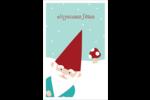 Lutin de Noël Reliures - gabarit prédéfini. <br/>Utilisez notre logiciel Avery Design & Print Online pour personnaliser facilement la conception.