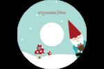 Lutin de Noël Étiquettes de classement - gabarit prédéfini. <br/>Utilisez notre logiciel Avery Design & Print Online pour personnaliser facilement la conception.