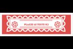 Confettis de Cinco de Mayo Cartes de notes - gabarit prédéfini. <br/>Utilisez notre logiciel Avery Design & Print Online pour personnaliser facilement la conception.