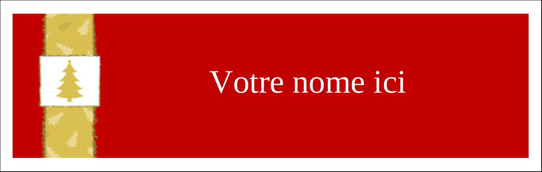 """4¼"""" x 5½"""" Carte de note - Arbre de Noël sur fond rouge"""