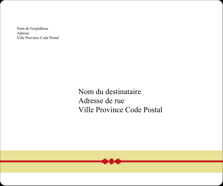 """½"""" x 1¾"""" Étiquettes D'Adresse - Laine classique"""