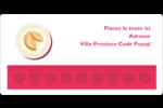 Nouvel An chinois avec biscuit Étiquettes de classement écologiques - gabarit prédéfini. <br/>Utilisez notre logiciel Avery Design & Print Online pour personnaliser facilement la conception.