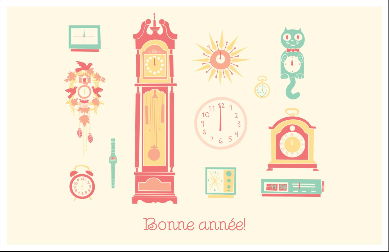 """8½"""" x 11"""" Cartes Et Articles D'Artisanat Imprimables - Horloges"""