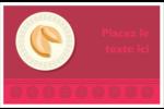 Nouvel An chinois avec biscuit Cartes Et Articles D'Artisanat Imprimables - gabarit prédéfini. <br/>Utilisez notre logiciel Avery Design & Print Online pour personnaliser facilement la conception.