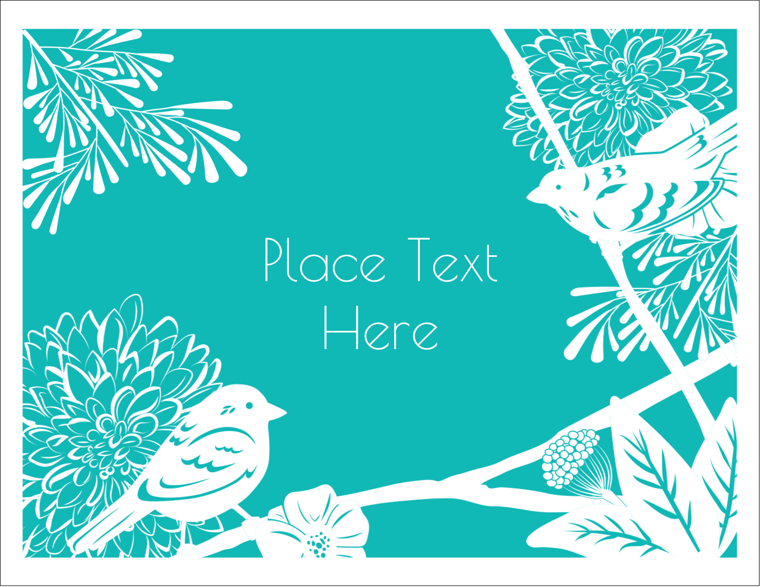 "5½"" x 4¼"" Postcard - Signs of Spring"