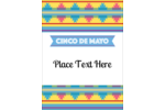 Add a festive feel to custom projects with pre-designed Cinco de Mayo Serape templates.
