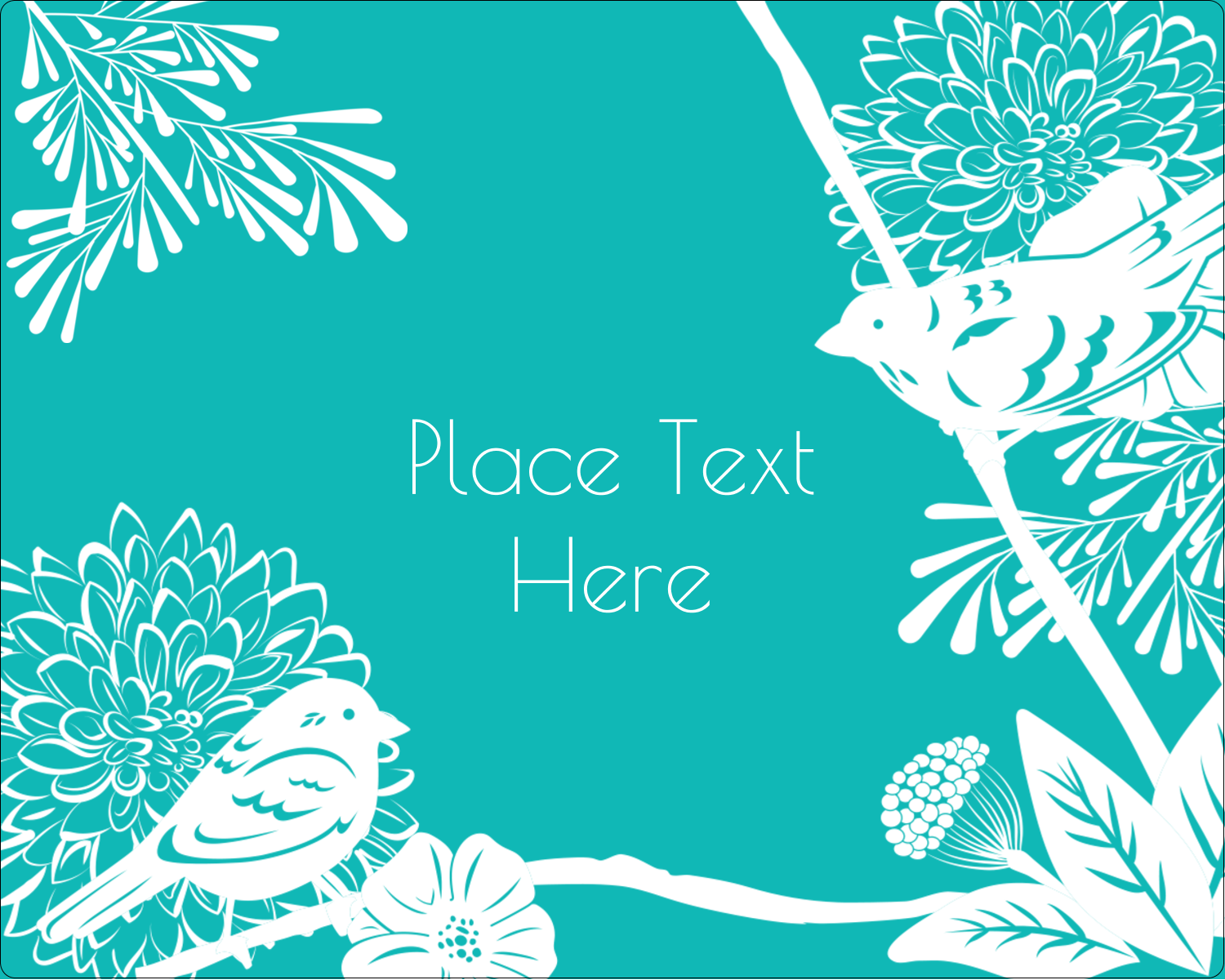 "3"" x 3¾"" Rectangular Label - Signs of Spring"