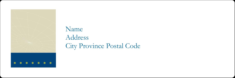 x  Address Label - Comm Tech