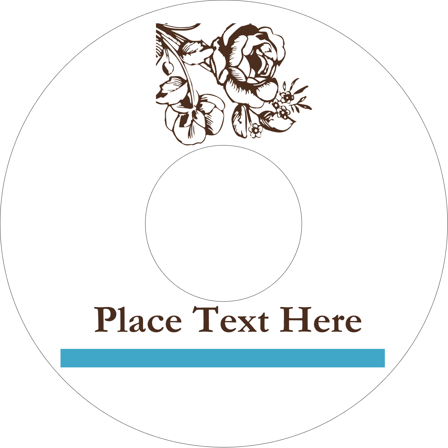 "4.65"" CD-DVD Label - Country Brunch"