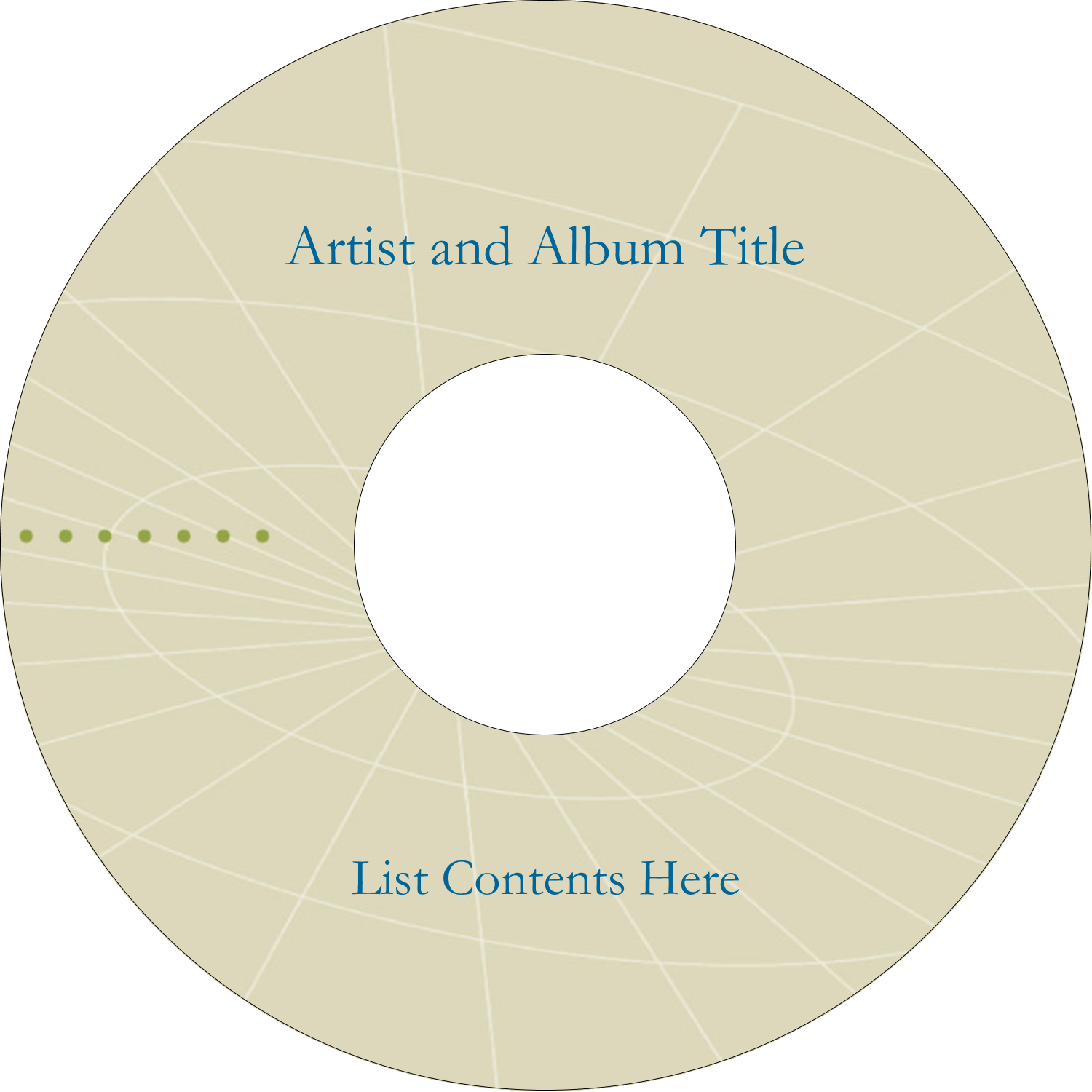 "4.65"" CD-DVD Label - Comm Tech"
