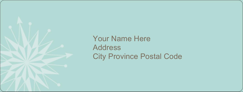 "1"" x 2⅝"" Address Label - Creative Spark"