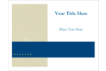Your custom project will make a great impression with pre-designed Comm Tech templates.