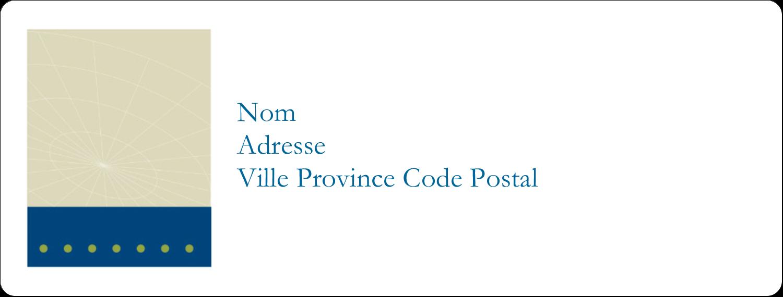 """1"""" x 4"""" Étiquettes d'adresse - Tech Comm"""