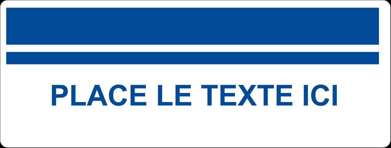 """2⅝"""" x 1"""" Étiquettes Voyantes - Barres colourées"""