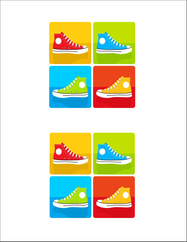 """8½"""" x 11"""" Cartes Et Articles D'Artisanat Imprimables - Littoral rouge"""