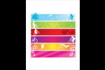 Littoral rouge Cartes Et Articles D'Artisanat Imprimables - gabarit prédéfini. <br/>Utilisez notre logiciel Avery Design & Print Online pour personnaliser facilement la conception.
