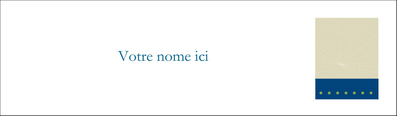 """3½"""" x 11"""" Affichette - Tech Comm"""