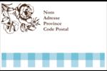 Brunch campagnard Étiquettes d'expédition - gabarit prédéfini. <br/>Utilisez notre logiciel Avery Design & Print Online pour personnaliser facilement la conception.