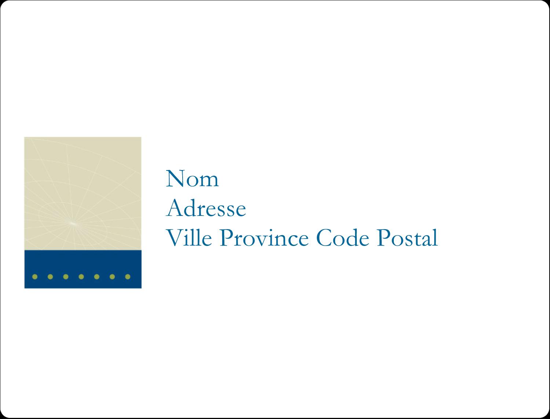 """8⅛"""" x 5"""" Étiquettes d'expéditions - Tech Comm"""