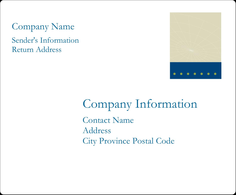 "3⅓"" x 4"" Shipping Label - Comm Tech"