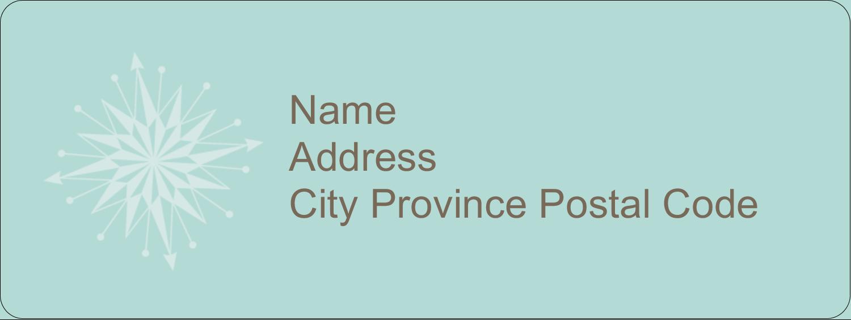 "⅔"" x 1¾"" Address Label - Creative Spark"
