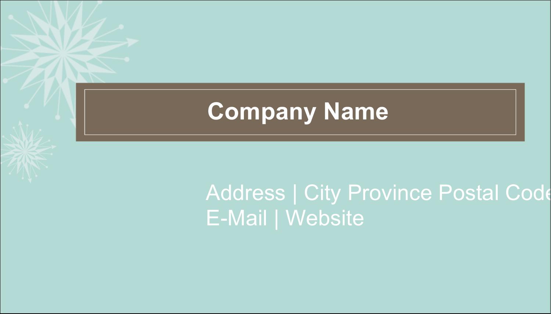 """2"""" x 3½"""" Business Card - Creative Spark"""
