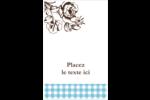 Brunch campagnard Cartes Et Articles D'Artisanat Imprimables - gabarit prédéfini. <br/>Utilisez notre logiciel Avery Design & Print Online pour personnaliser facilement la conception.
