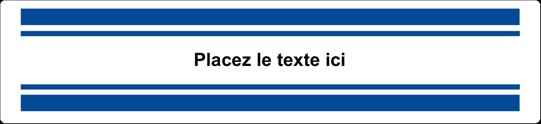 """8½"""" x 5"""" Cartes Et Articles D'Artisanat Imprimables - Barres colorées"""