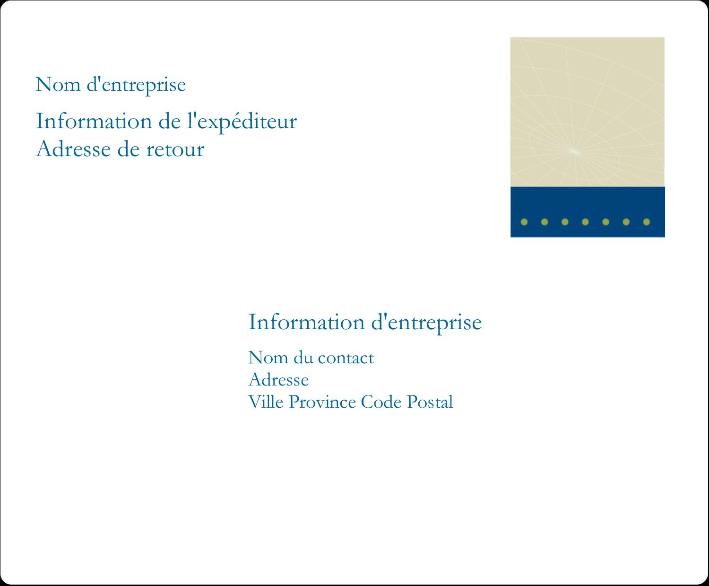 """3⅓"""" x 4"""" Étiquettes d'expédition - Tech Comm"""