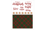 Spread holiday cheer with this joyous design.