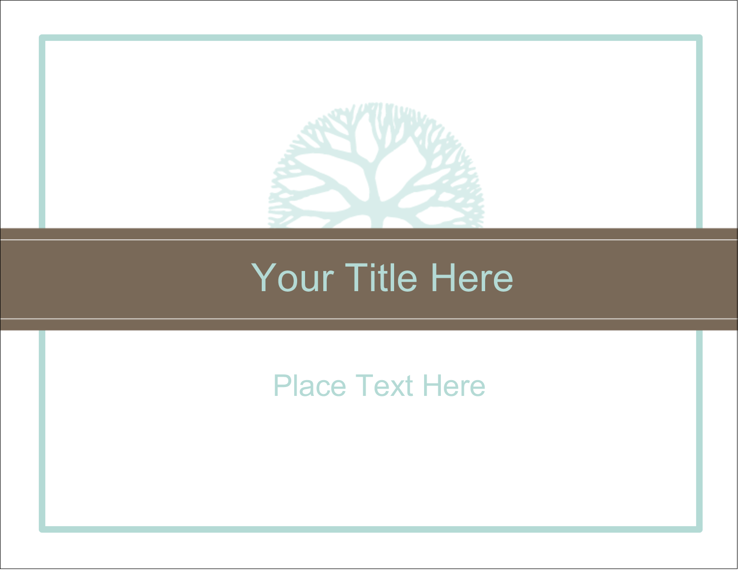"11"" x 8½"" ID Label - Creative Floral"