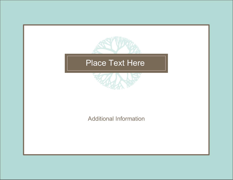 "4¼"" x 5½"" Postcard - Creative Floral"