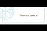 Fleur créative Étiquettes Voyantes - gabarit prédéfini. <br/>Utilisez notre logiciel Avery Design & Print Online pour personnaliser facilement la conception.