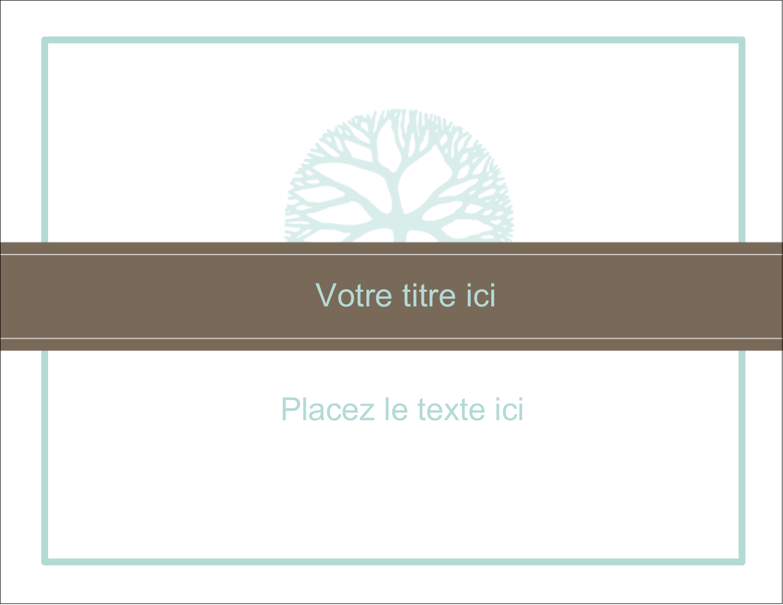 """1¾"""" x ½"""" Étiquettes D'Identification - Fleur créative"""